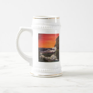 All at Sea 18 Oz Beer Stein