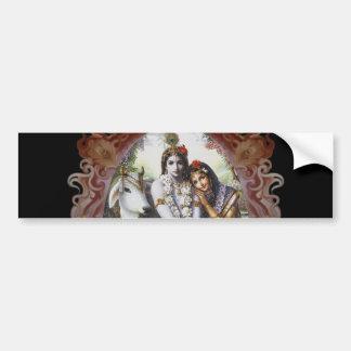 All-Attractive Couple Bumper Sticker