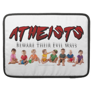 All Babies are Atheists Sleeves For MacBook Pro
