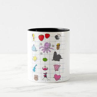 All Beatles Two-Tone Coffee Mug