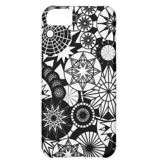 All Black and White iPhone 5 Barely There Case