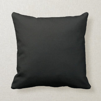 All Black Pillow