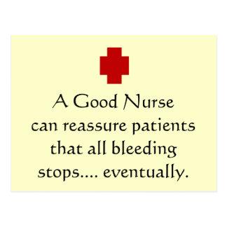 All Bleeding Stops Eventually Postcard