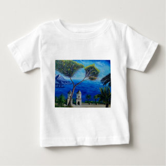 All Blue on Amalfi Coast in Italy Baby T-Shirt