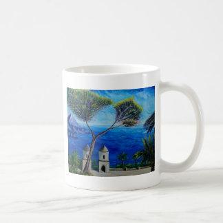 All Blue on Amalfi Coast in Italy Coffee Mug
