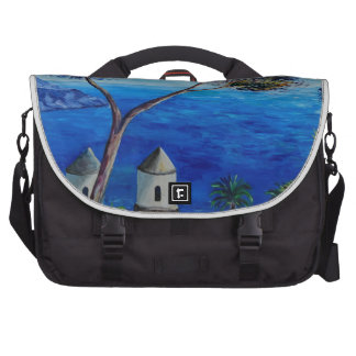 All Blue on Amalfi Coast in Italy Bags For Laptop