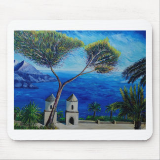 All Blue on Amalfi Coast in Italy Mouse Pad
