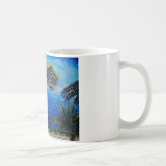 All Blue on Amalfi Coast in Italy Mugs