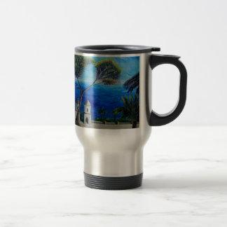 All Blue on Amalfi Coast in Italy 15 Oz Stainless Steel Travel Mug