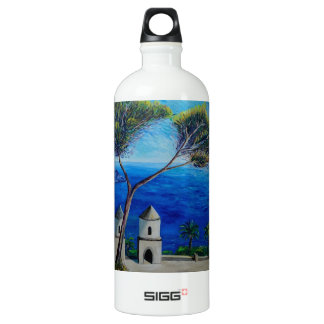 All Blue on Amalfi Coast in Italy SIGG Traveler 1.0L Water Bottle