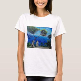 All Blue on Amalfi Coast in Italy T-Shirt