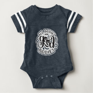 All Bodies are Good Bodies Navy One-Piece Romper