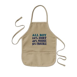 All Boy Kids Apron