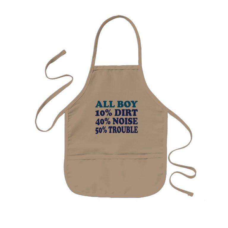 All Boy Kids Apron