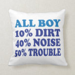All Boy Pillows