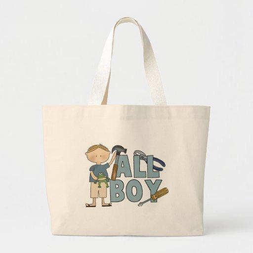 All Boy Tote or Diaper Bag
