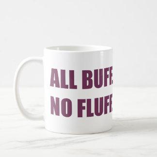 All Buff No Fluff Fat Hamster Commercial Coffee Mug