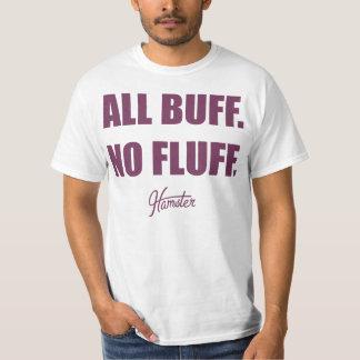 All Buff No Fluff Fat Hamster Commercial Tee Shirt