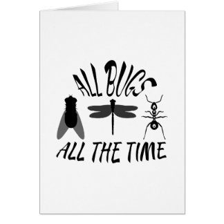 All Bugs Greeting Card