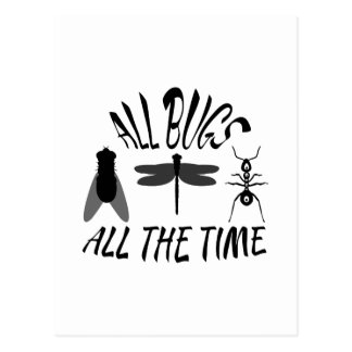 All Bugs Postcard
