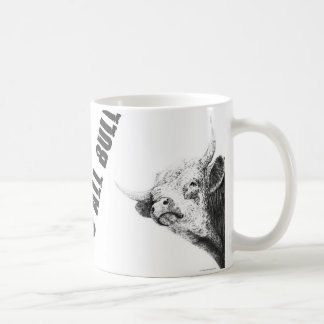 ALL BULL COFFEE MUG