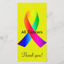 All Cancers Thank You Card