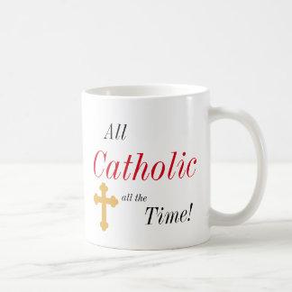 All Catholic All the Time! Coffee Mug