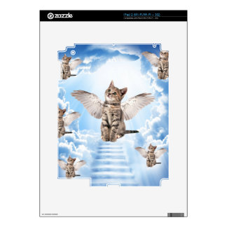 All Cats Go to Heaven Decal For iPad 2
