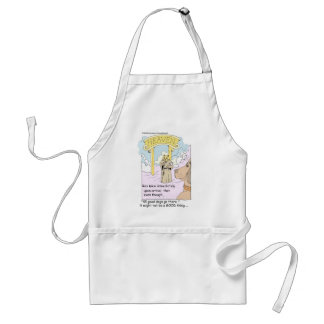 All Cats Go To Heaven? Funny Gifts & Tees Apron