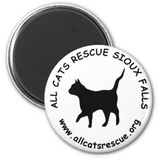 All Cats Rescue Sioux Falls Logo Magnet