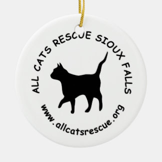 All Cats Rescue Sioux Falls Ornament (Round)