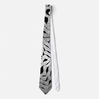 All chained up neck tie