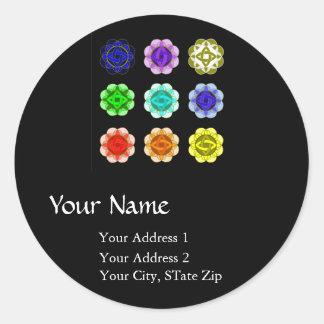 """""""All Chakra Balancing"""" Address Label"""