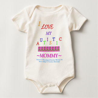All Child's~Autistic Love~Mommy! Baby Bodysuit