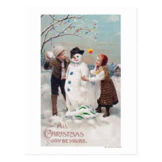 All Christmas Joy Be Yours Postcards