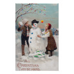 All Christmas Joy Be Yours Poster