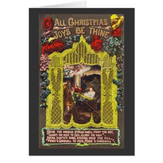 All Christmas Joys Greeting Card