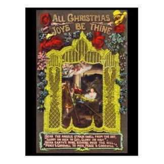 All Christmas Joys Postcard