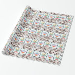 All Collage 8 Gift Wrap