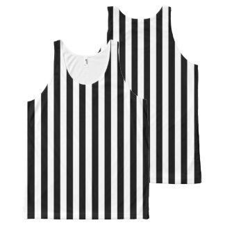All Colors Vertical Stripes Template All-Over-Print Tank Top