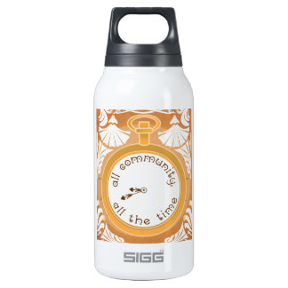 All Community, All the Time Insulated Water Bottle