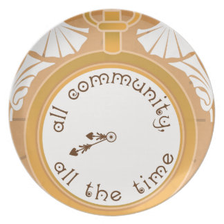 All Community, All the Time Plates