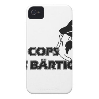 All Cops of acres bearded ones iPhone 4 Case-Mate Case
