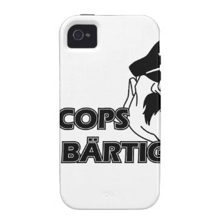 All Cops of acres bearded ones Case For The iPhone 4