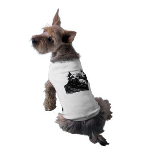 ALL COTTON DOG T SHIRT-LARGE TEE