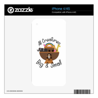 All Creatures Decal For The iPhone 4