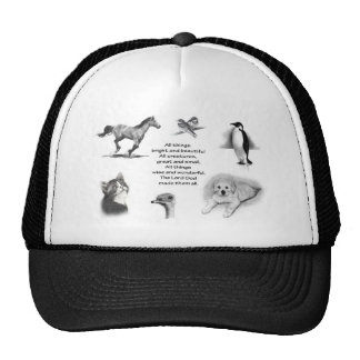 All Creatures Great And Small: Animals: Scripture Hat