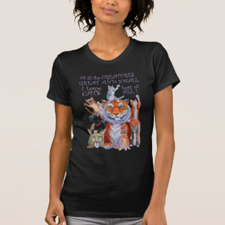 All Creatures Great and Small Cat! Tee Shirt