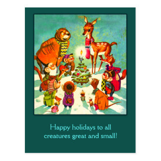 All Creatures Great and Small Holiday Cards