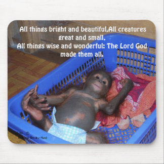 All Creatures Great and Small Mouse Pad